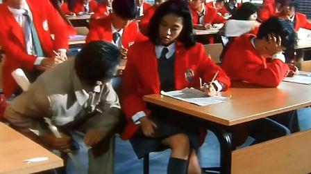 极品学生作弊手法丰富多彩,监考老师就算三只眼睛,也抓不过来啊