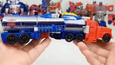 变形金刚玩具297:激光车 机甲车  卡车等变身机器人展示