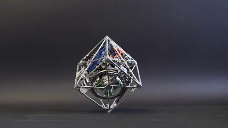 陀螺仪是怎样运作的?把正方形陀螺仪放地上,神奇的现象发生了