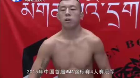 武林笼中对:日本名将以KO著称,却被中国硬汉吕振鸿无情裸绞KO!