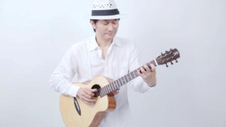 董运昌 - 下午3点40分 | 吉他指弹 / Fingerstyle 演奏| aNueNue彩虹人 M100