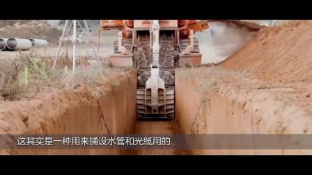 全球最猛的切割机,一击能轻松切5.5米的深度