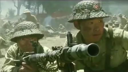 这才叫战争猛片,重机枪疯狂扫射