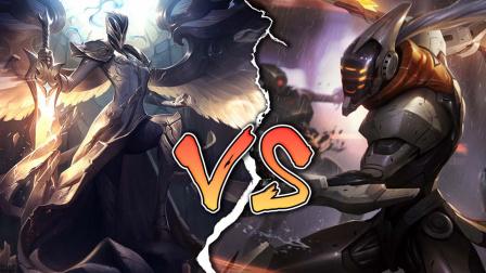 LOL英雄对决:易大师vs天使凯尔,谁才是后期王者?