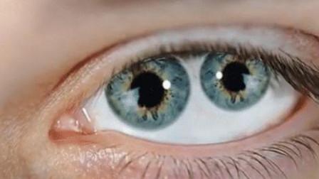 """拥有""""双瞳孔""""的人,看到的世界和我们有什么不同,真的能通灵?"""
