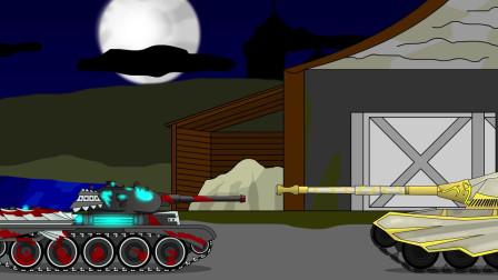 坦克世界动画:黑夜中的坦克