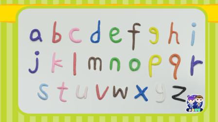 雪花泥字母——小写字母儿歌~好听又好玩!
