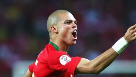 足坛大杂烩 真·圣僧!佩佩2016年欧洲杯决赛极致防守表演