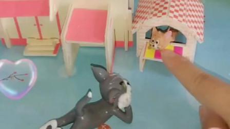 猫和老鼠:汤姆耍赖,跟杰瑞玩猫捉老鼠游戏,你说该怎么惩罚他呢