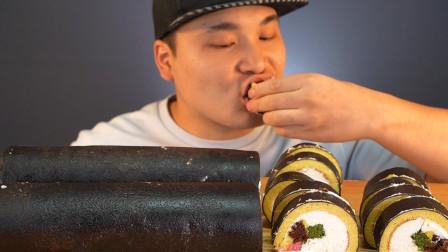 """""""寿司""""蛋糕你吃过吗?小哥哥也是太有才了,吃的越来越有创意"""