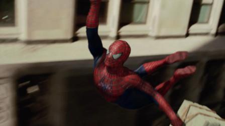 彼得变身蜘蛛侠去送披萨,却被男子看见,以为是他偷了披萨