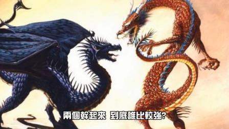 世纪大对决:东方龙vs西方龙,谁比较强?
