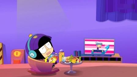 开心超人:宅博士觉得多做运动有益健康,结果他却抱着一堆零食!