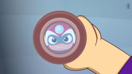 开心超人:宅博士准备喝强力健,结果开心超人说他想作弊!