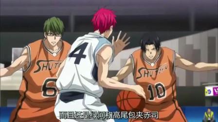 黑子的篮球:绿间的三分球太恐怖了,普通的三分球也投的如此顺手