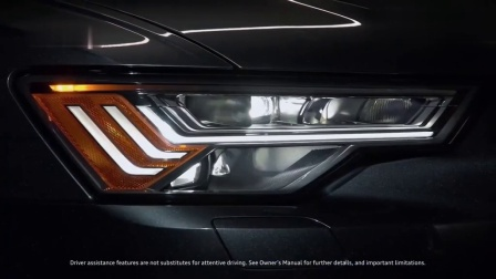 在汽车灯光效果上, 灯厂奥迪从未令人失望, 就像2020款奥迪A6这般
