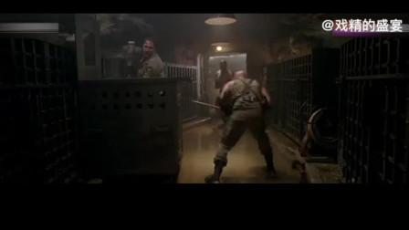 《星际传奇》:把弱女子像野兽一样关进笼子,这几个大男子也太凶狠了