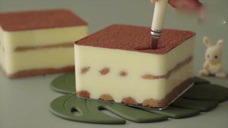 """蛋糕店25块钱一份的""""提拉米苏"""",成本只需5块钱,在家吃到撑"""