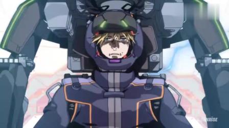 机动战士高达:UC独角兽中的巨型卫星炮,这个真的有人顶得住!