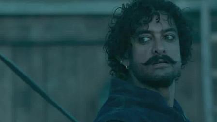 印度暴徒:阿米尔汗与英国鬼子厮搏斗,场面看着真过瘾