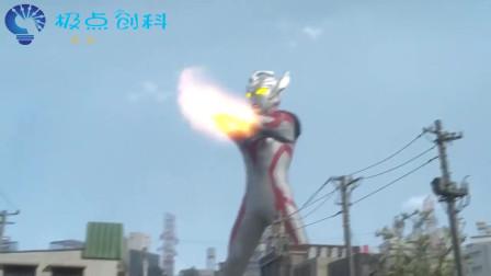 奥特曼:泰迦奥特曼利用爆雷闪电光戒的力量,召唤雷电对付怪兽!