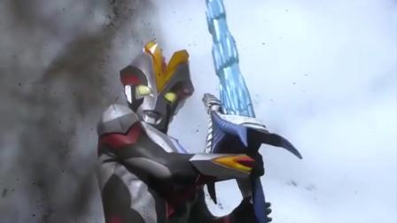 奥特曼:这怪兽太厉害了!赛罗奥特曼的剑对怪兽也不管用
