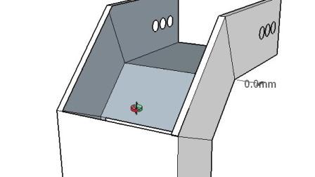 Ti桥架弯头制作45度组成90度下翻弯头第二种做法