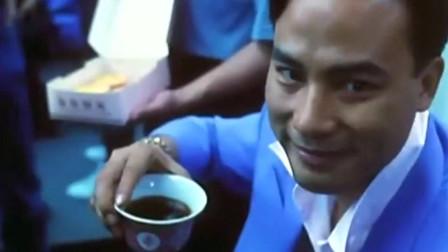 黑帮老大请喝杯茶吃蛋挞,就把小混混吓懵了,女神瞬间上位成大嫂