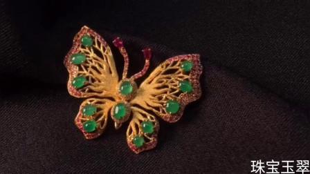 珠宝玉翠:精美创意设计翡翠首饰品