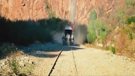 让子弹飞:这个结局当年引起了巨大的争议,你从火车上看到了谁
