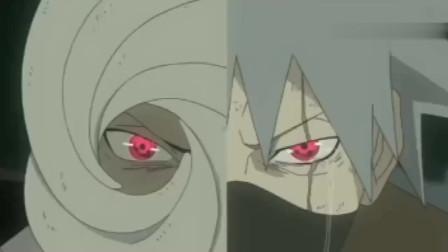 火影忍者:带土和卡卡西一起保护琳?十尾人柱力太强了