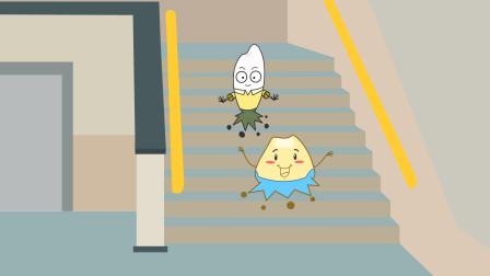 同学们在学校里,上下楼梯要注意哪些安全事项?