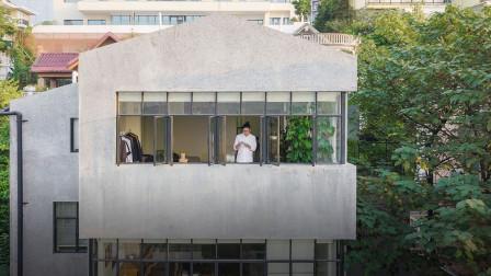 33岁重庆小伙,亲手打造450㎡江景房:鼓励父母分床睡,感情更好