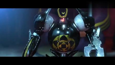 超能陆战队:小型机器PK,女子的机器人竟被对手直接锯碎