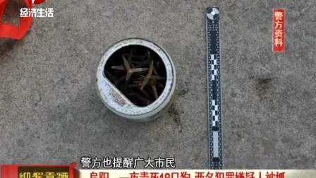 阜阳:一夜毒死18只狗,两名犯罪嫌疑人被抓