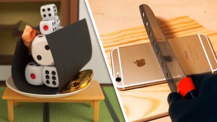 创意定格动画:使用苹果手机也可以做一顿美味的午餐