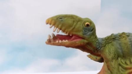 与玩具恐龙们一起在布满陷阱的火山上玩耍吧.mp4