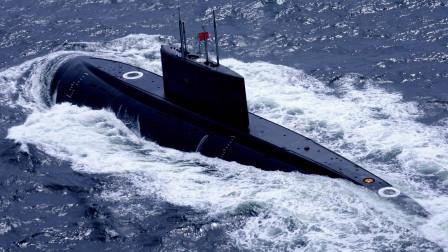 五国军舰同台竞技,中国1800吨潜艇突出重围,斩获360亿大单