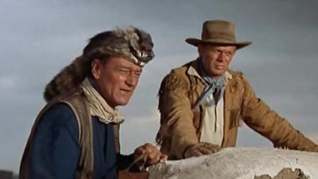 西部战争史诗片,美军晚上去偷敌军的牛,结果不出所料有牛肉吃