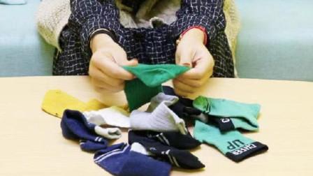 老婆太有才了!废旧袜子剪一刀,厉害又实用,家里做20个都不够