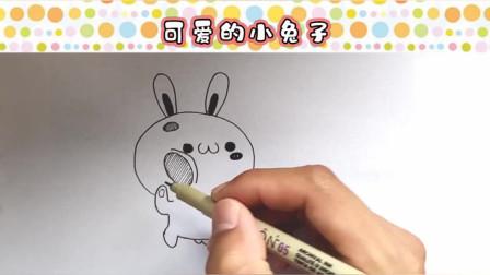 可爱的小兔子宽