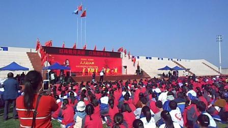 自贡市在大安区江姐中学举行纪念江姐70周年大型演出活动,