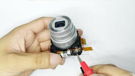 拆解一个数码相机镜头,内部结构十分精巧,看看都有啥!