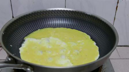 宝妈教你做虾米鸡蛋饼,做法简单,一看就会,营养丰富,孩子十分爱吃