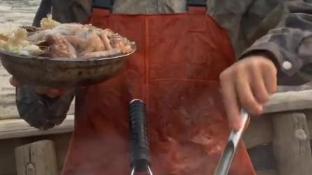 八爪鱼下锅原来是这样的,看着好心疼啊