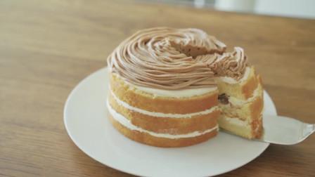美味食谱勃朗峰栗子蛋糕食谱