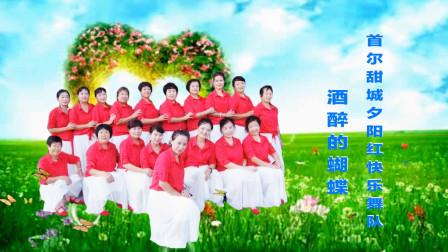 首尔甜城夕阳红快乐舞队《酒醉的蝴蝶》编舞:梅子    视频制作:映山红叶