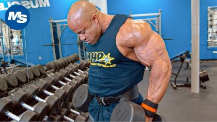 Victor Martinez - 肩部训练