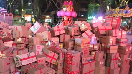 女子双11收1600多件快递 快递站派送到凌晨3点