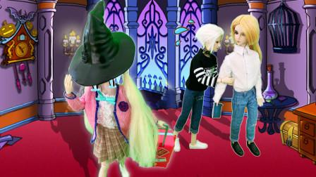 叶罗丽故事 莫纱考入魔法学校 测资质最差 带最大魔法帽被嘲笑